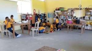 The library at recess