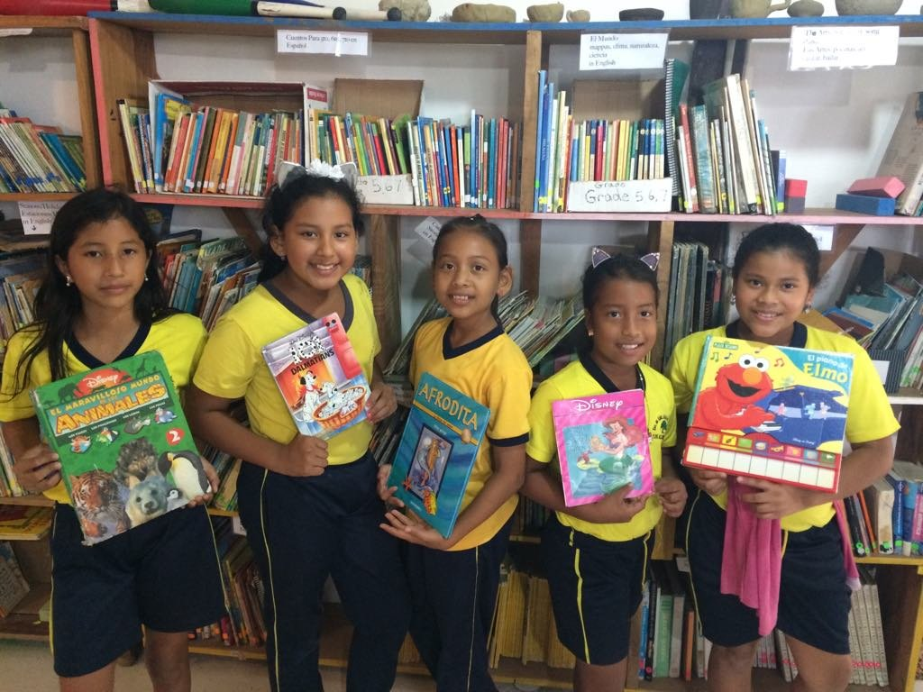 Help Create Enriching Library For Rural Students!