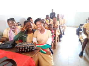 Uniforms, books and smiles tell the story