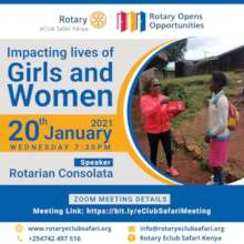 A partnership project with the Rotaract club