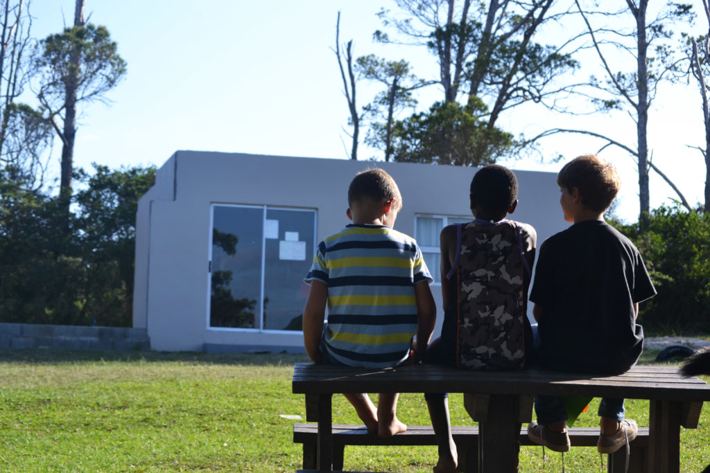 Build a solar - powered classroom in South Africa