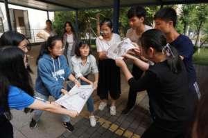 Rui participating in Shining Star training