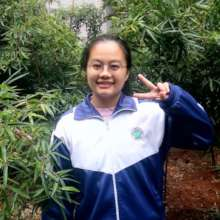 Rui as a high school student, supported by CWEF