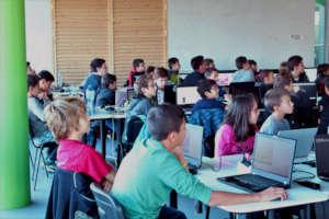 Algorithmic programming for school students