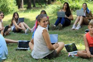 Telerik Academy School in the summer