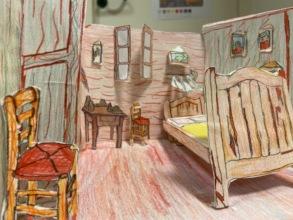 Van Gogh's room in Auvers/Oise