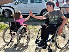 Motivation Romania Wheelchair Fund 2020