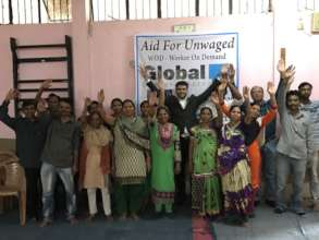 Aid for Unwaged project in India