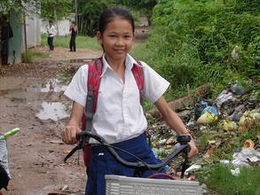 Happy to go to school!