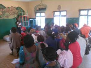 women on career orientation workshop
