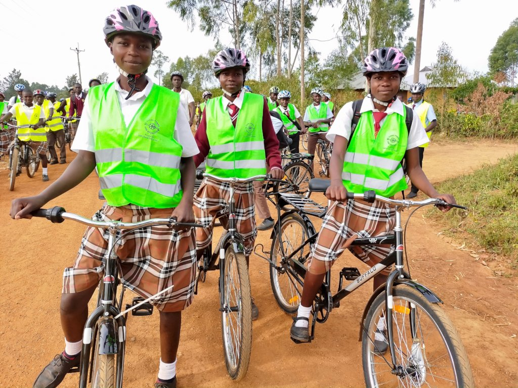 PEDAL POWER FOR KENYAN EDUCATION