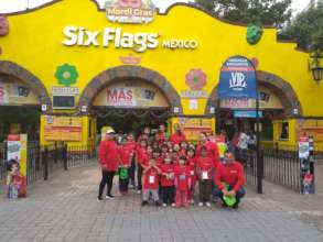 Visit six flags
