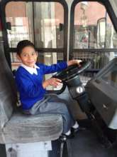 Erick in the bus
