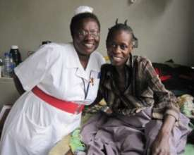 Rose and Josephine one of our nurses
