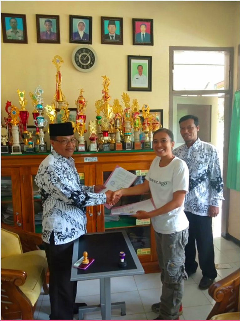 Recycle Storages for 16 Villages of Java Island
