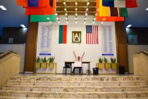 American University in Bulgaria main event hall