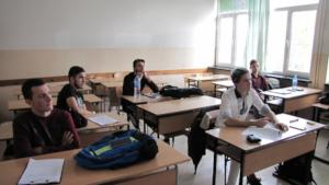 Former BEST participant judging Prose in Burgas