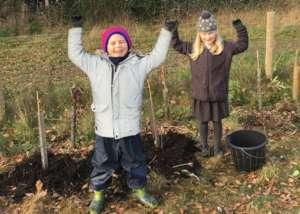 We love tree planting!