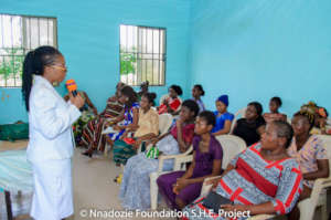 PREGNANCY HEALTH TRAINING IN LOCAL LANGUAGE