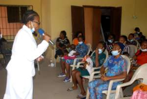TRAINING OF UNDERSERVED PREGNANT AND NURSING WOMEN