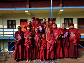Group photo after the nunnery health training