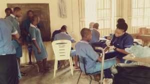 Nurses taking care of the kids