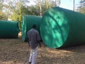 Tanks arrive in Mwandi