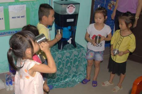 Safe Water for School Children in Rural Vietnam