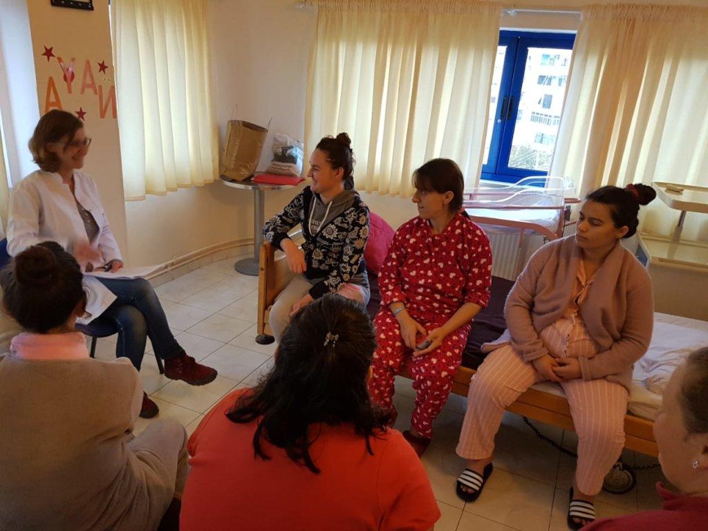 Online Perinatal Classes for Women in Albania