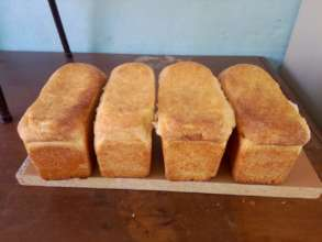 Fresh Bread baked by Elize
