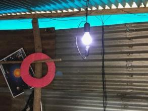 First LED Light