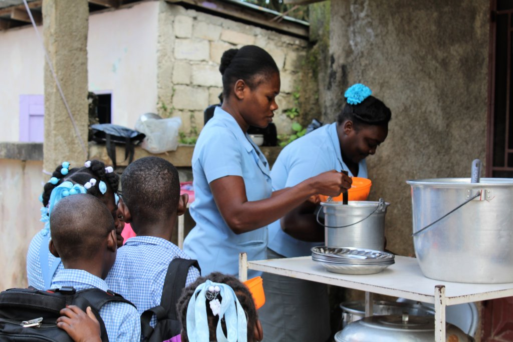 Educate 357 moms about health & nutrition in Haiti