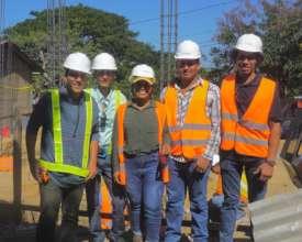 Supervisors & 2 graduates working for Contractors