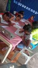 Strong Girls learning digital skills