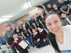 Jovenes Colegio Ricaurte Bogota-Colombia