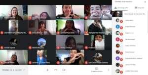 Young Women learning digital skills - 100% virtual