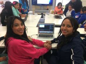 Girls in our Tech Lab