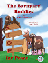 The Barnyard Buddies STOP for Peace, book cover