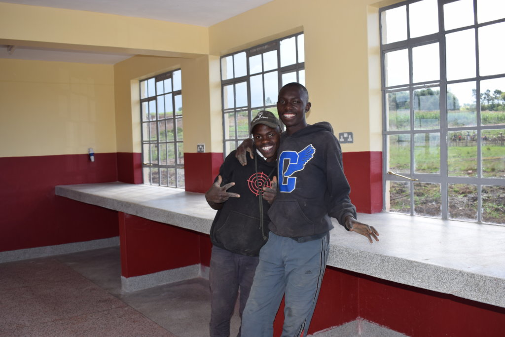 Build a dorm for 100 street youth in Eldoret