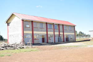 Newly constructed vocational school building