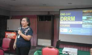 Resource Speaker gives a glimpse of the training