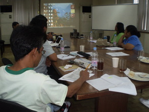 consultation meeting with DRRM practitioners
