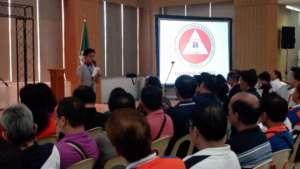 DILG Officer provides the Workshop Overview