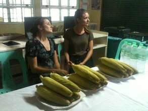 globalgiving reps visit tacloban