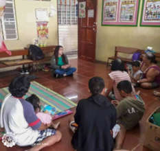 PFA Session with Taal Volcano Eruption Evacuees