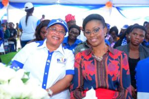 BAF Chairman BoT and Ogun First Lady at Flag-Off