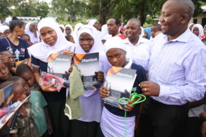 SDA rewarded girls who did well in examinations