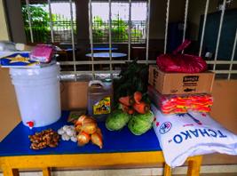 Food and Hygiene Kits for Distribution
