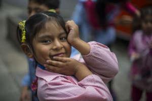 deaf girl at storytelling festival