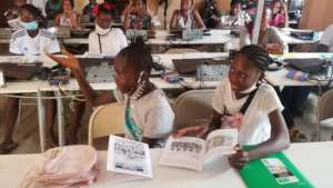 Joy at the Girls Mentoring program on Adolescence